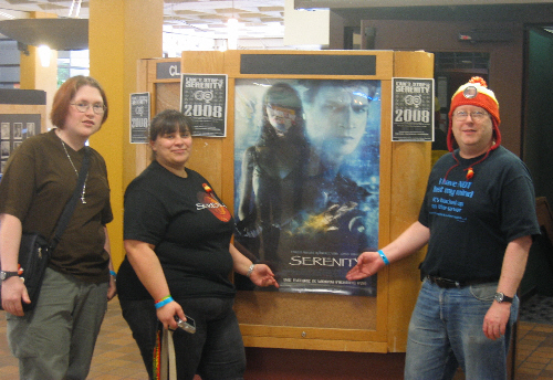 ATC Crew at Serenity Charity Screening 2008