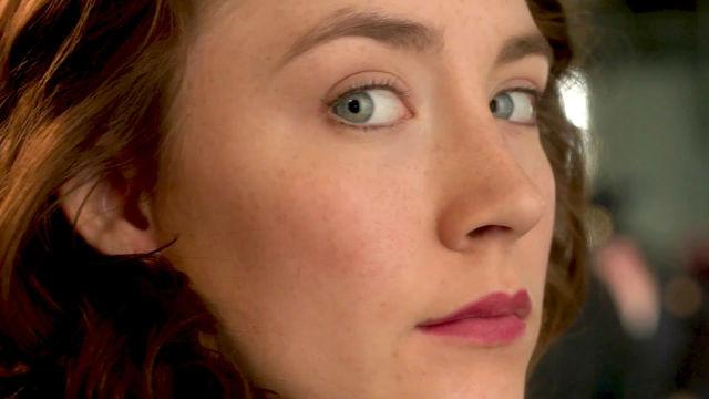 The stunning Saoirse Ronan