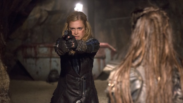 The 100. Get over your fear of the CW and watch it already!
